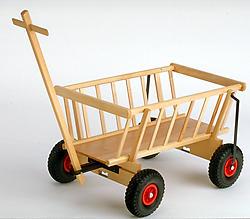 Gloco Holzwaren Leiterwagen